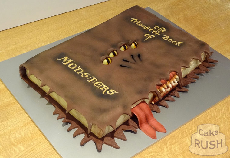 Monster book of monsters cake