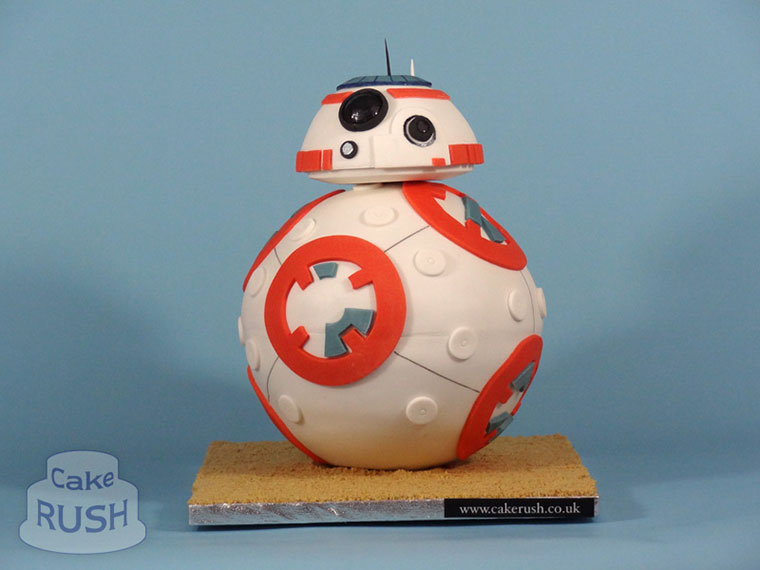 BB-8 (Star Wars Episode VII) cake