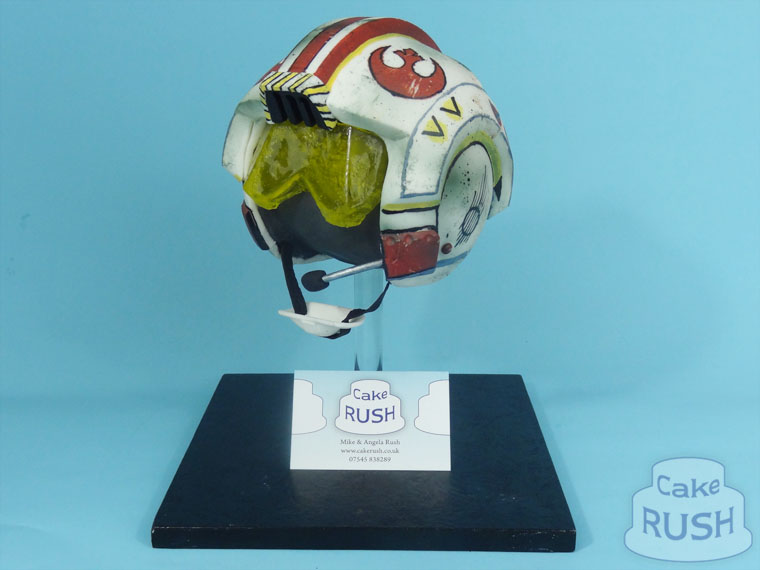 Rebel Helmet (Star Wars) cake
