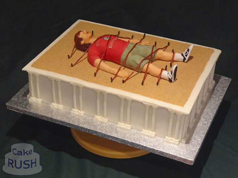Gulliver's Travels cake
