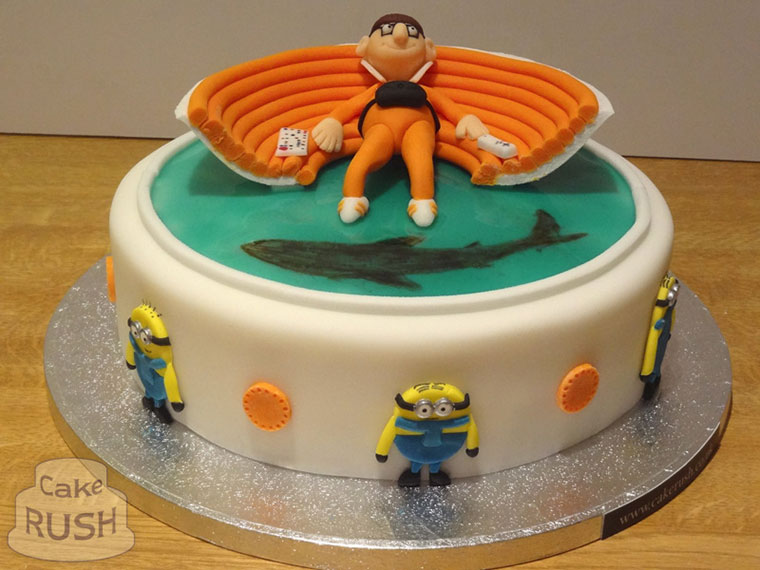 Vector (Despicable Me) cake
