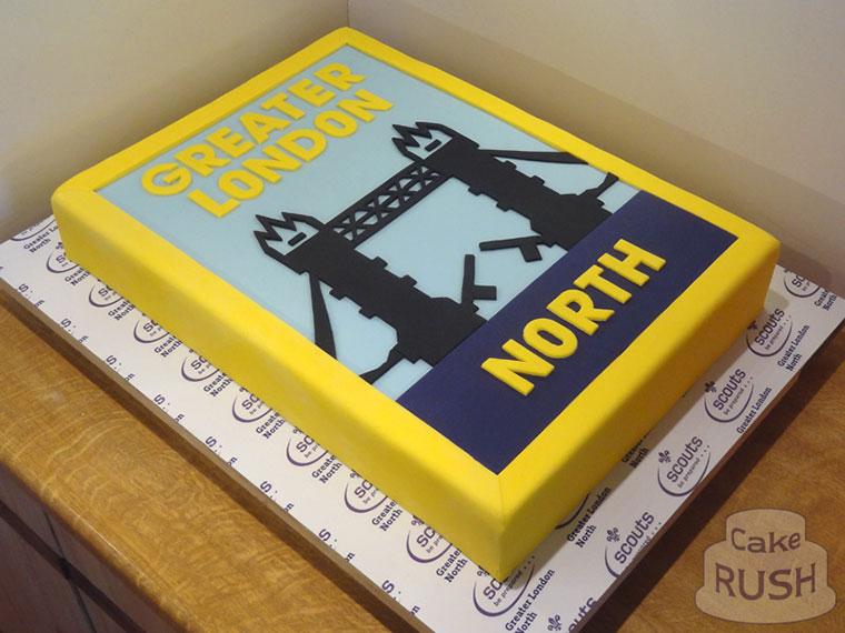 Greater London North (Scouting) cake