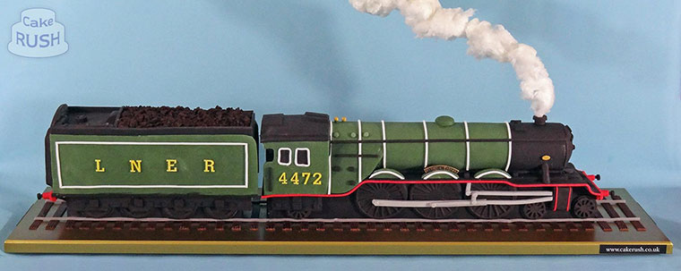 Flying Scotsman cake