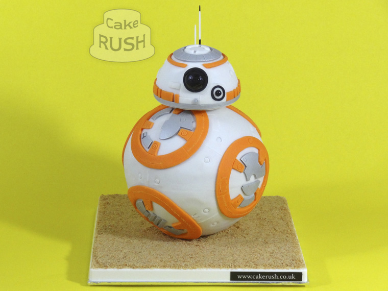 Star Wars BB-8 cake 2