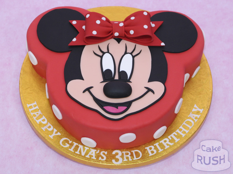 Minnie Mouse cake 2