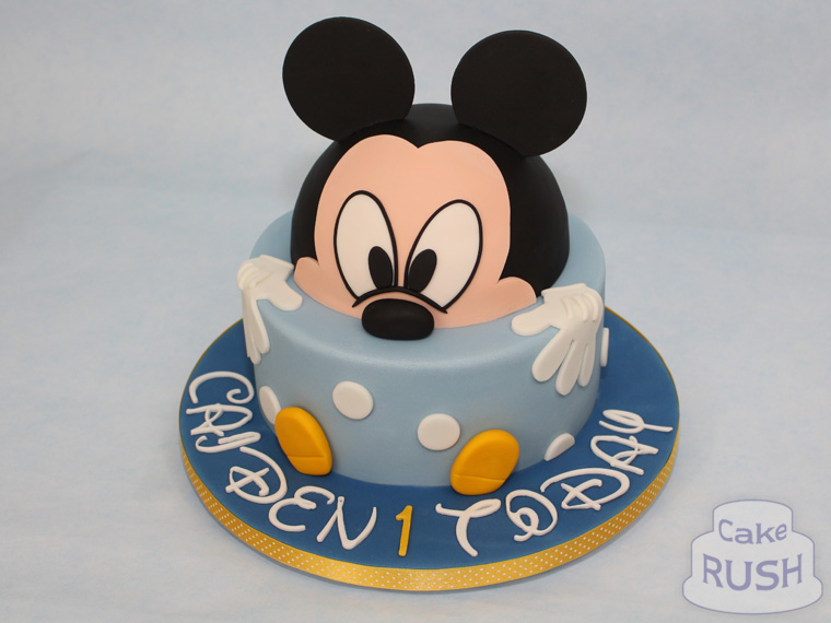 Mickey Mouse cake 2